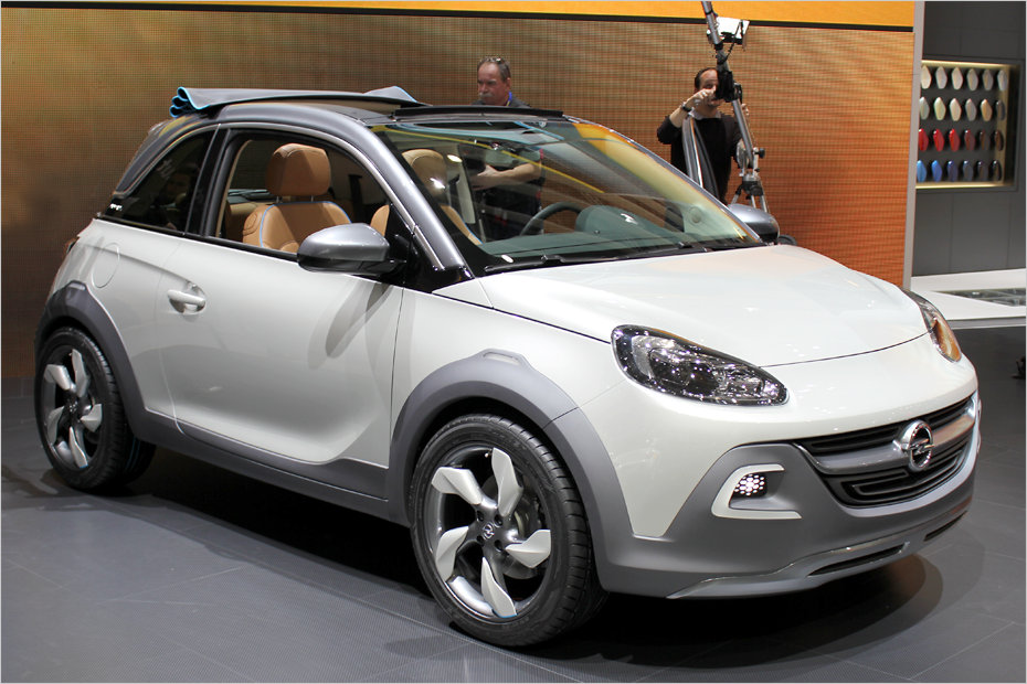 opel adam rocks concept suv look und faltdach heise autos. Black Bedroom Furniture Sets. Home Design Ideas