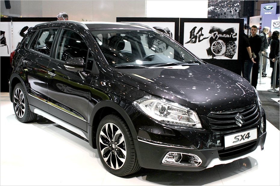 suzuki sx4 neuer crossover von suzuki in genf heise autos. Black Bedroom Furniture Sets. Home Design Ideas