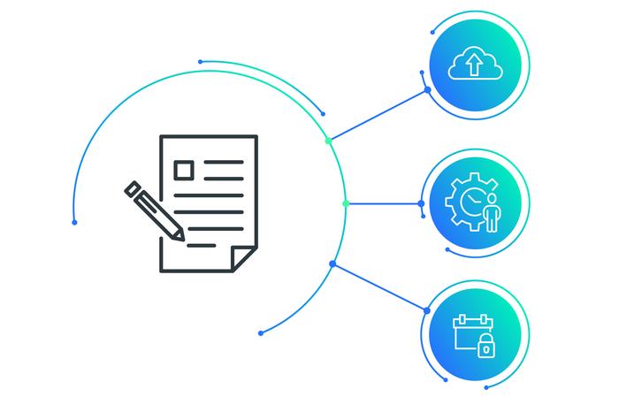 Dokumente revisionssicher empfangen, teilen und kommentieren: Mit d.velop documents light arbeiten Unternehmen GoBD-konform.