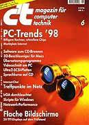 Titelblatt des ct-magazins mit meinem Srtikel zu cgi-Sicherheit