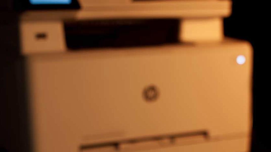 c\'t-Labs: HP-Multifunktionslaserdrucker zieht Vorlagen schräg ein ...