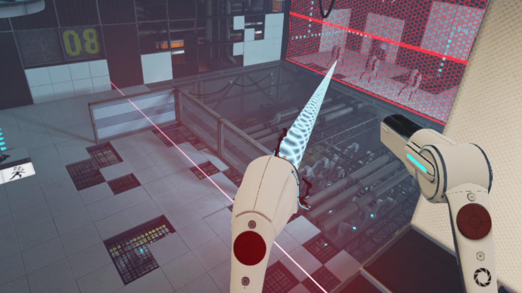 Portal Stories allows for interactive VR gaming