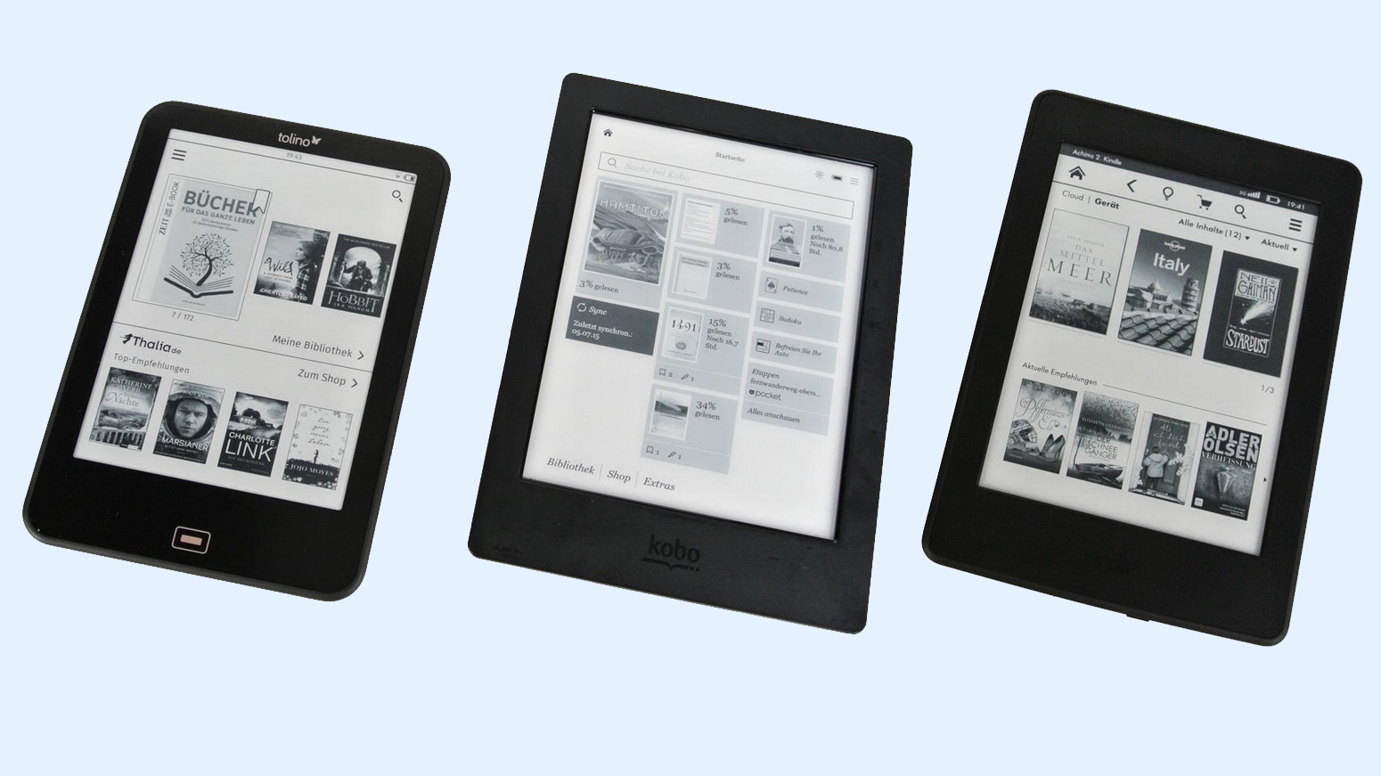 Kindle Kobo Tolino Kaufberatung E Book Reader Ct Magazin