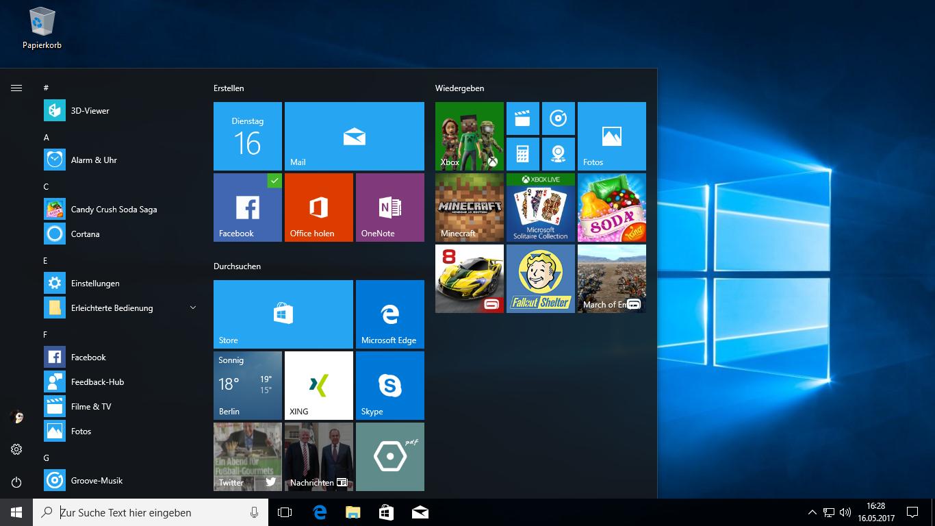 iso windows 10 pro fall creators update