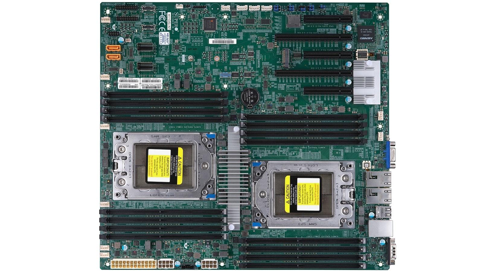 AMD Epyc: Die ersten Server-Mainboards von Supermicro und
