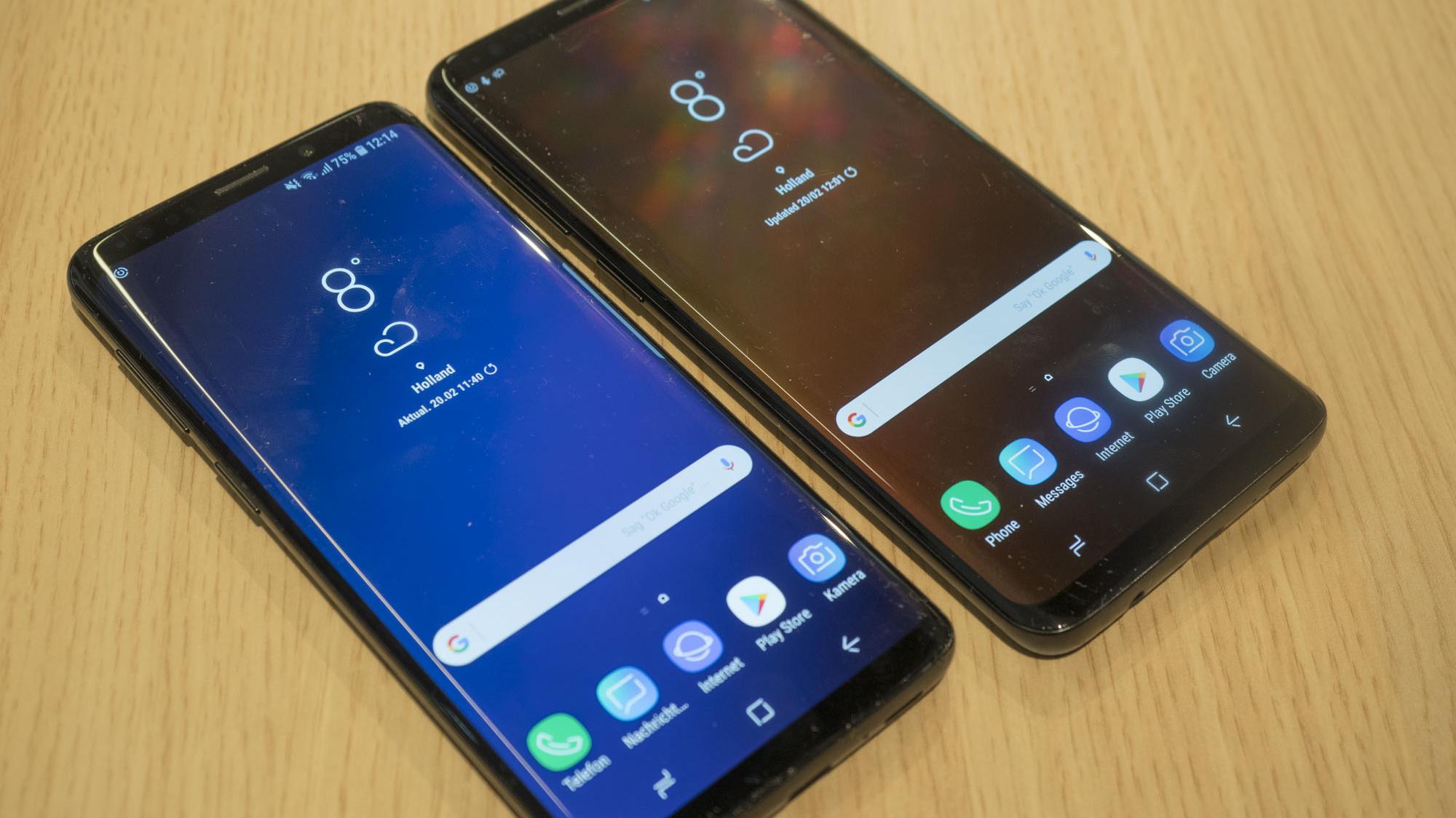 Ctron21 Schutzfolie Samsung Galaxy S9 Test