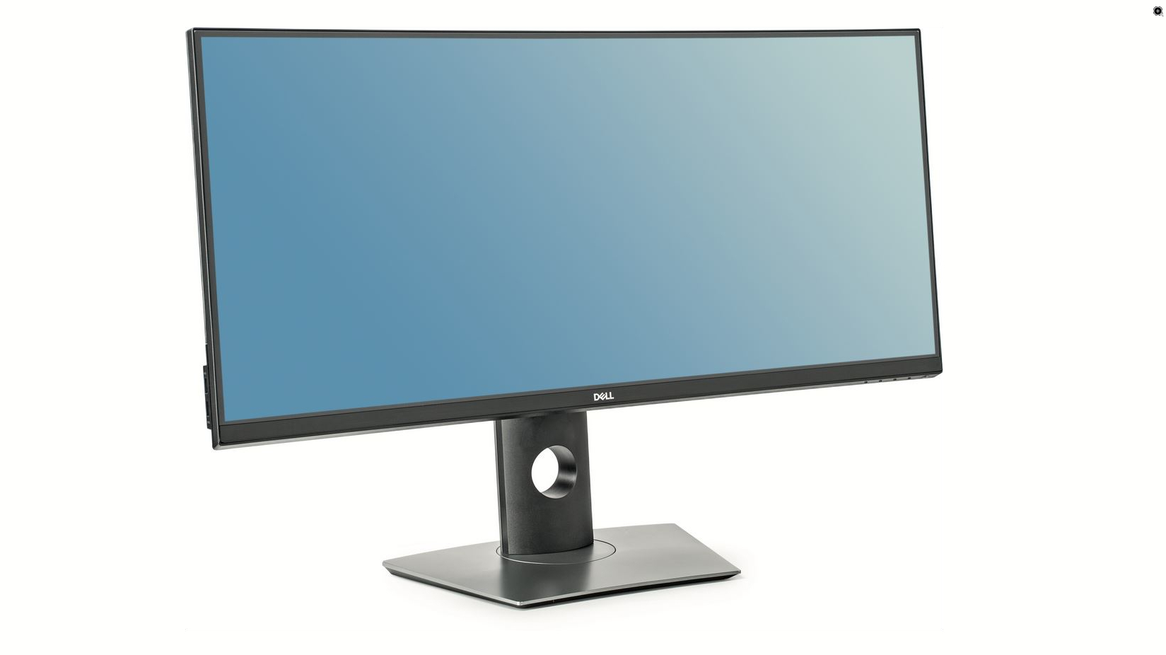 """Dell P3418HW 34/"""" 2560x1080 21:9 Widescreen Curved IPS Monitor"""