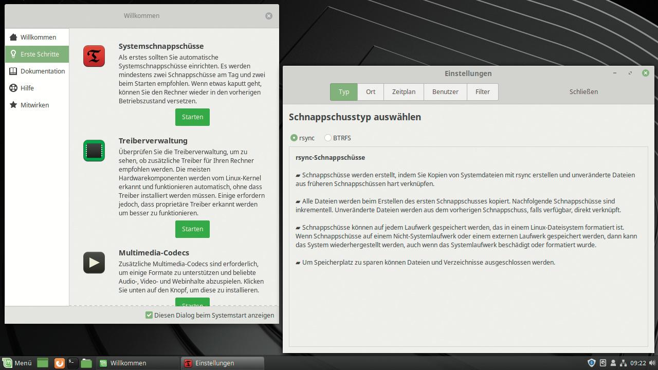 """Linux Mint 19 """"Tara"""": Frischer Ubuntu-Unterbau und Snapshot"""