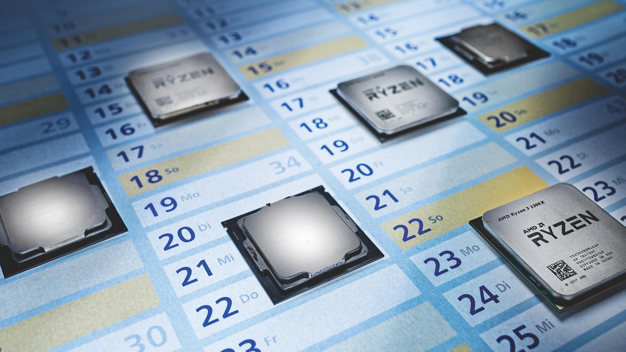 Prozessorfahrpläne von AMD und Intel | c't Magazin