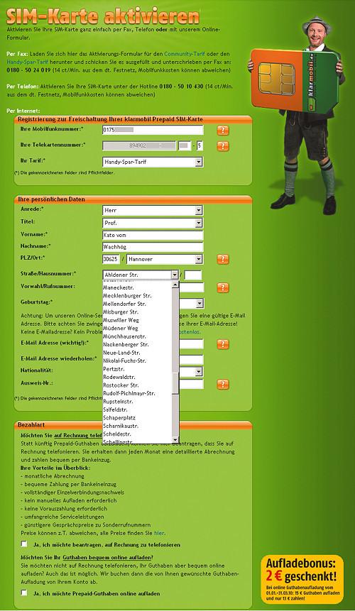 Anonyme Sim Karte.Anonym Telefonieren Und Surfen C T Magazin