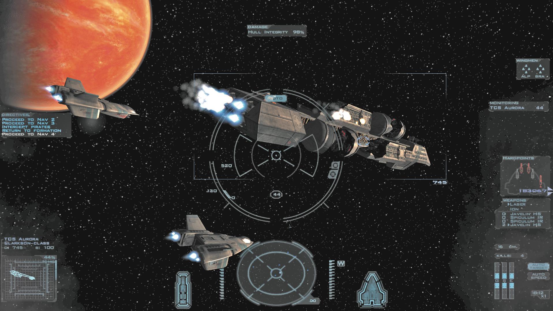 Weltraum Spiel