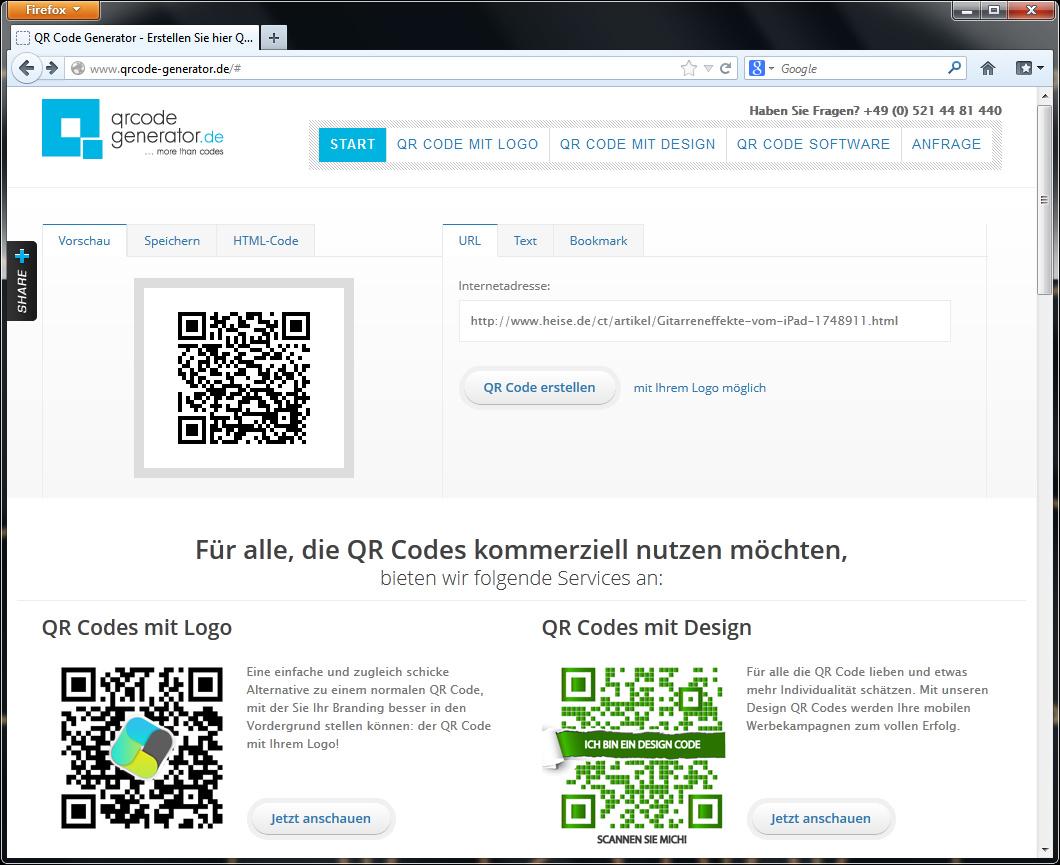 Erfinderische Und Praktische Anwendungen Für Qr Codes Ct Magazin