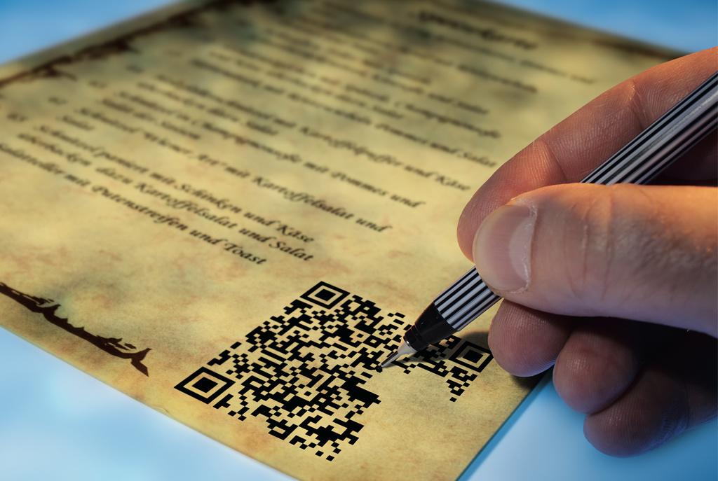 Erfinderische Und Praktische Anwendungen Für Qr Codes C T
