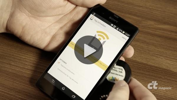 smartphones mit nfc tags herumkommandieren c 39 t magazin. Black Bedroom Furniture Sets. Home Design Ideas