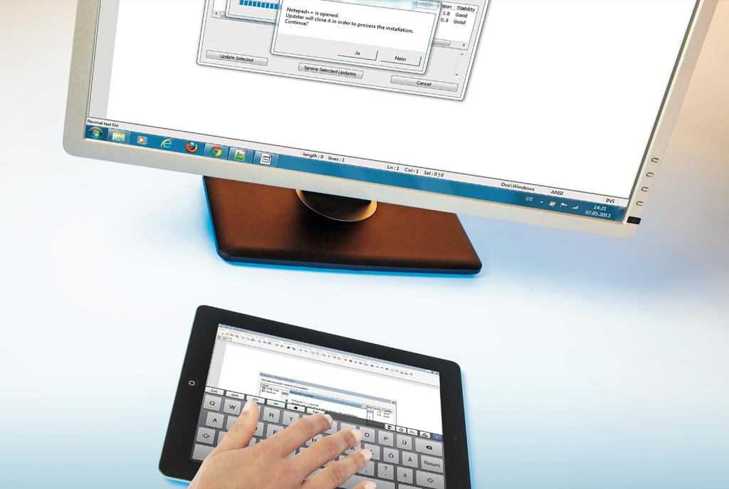 windows mac os x und linux mit dem ipad fernsteuern c 39 t. Black Bedroom Furniture Sets. Home Design Ideas