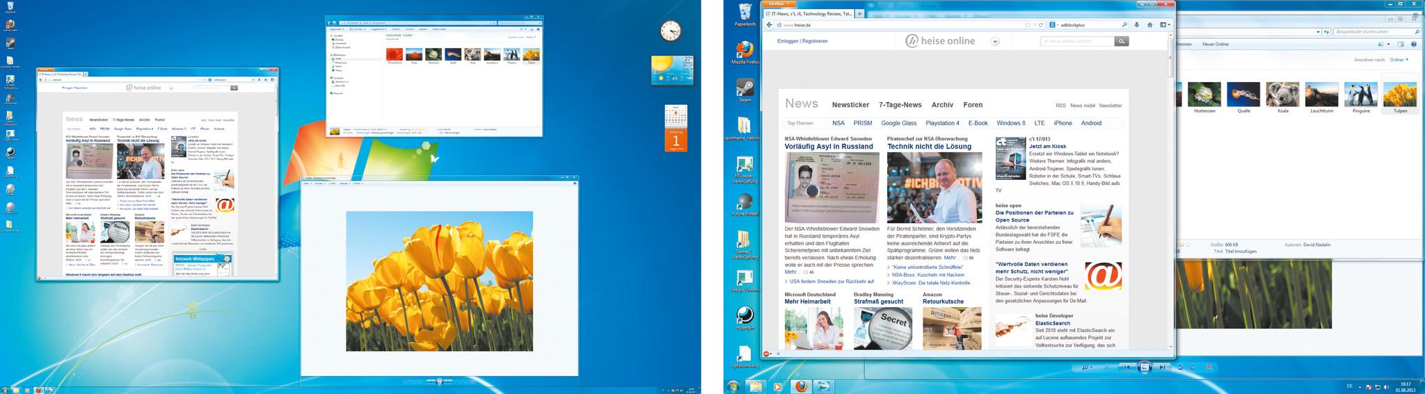 Inhalte, Schnittstellen und Displays für ultrahohe Auflösungen | c\'t ...