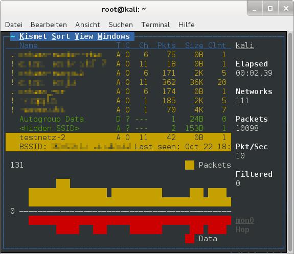 kali linux sicherheit testen netzwerk durchleuchten daten retten c 39 t magazin. Black Bedroom Furniture Sets. Home Design Ideas