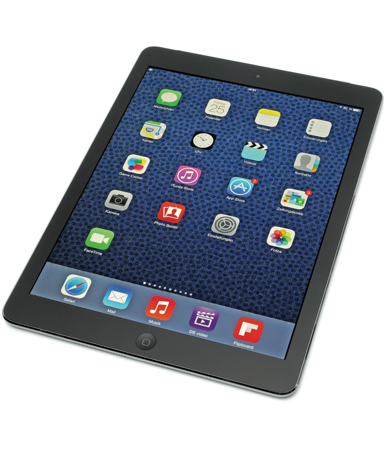 apples neues ipad air ist leicht d nn und schnell c 39 t magazin. Black Bedroom Furniture Sets. Home Design Ideas