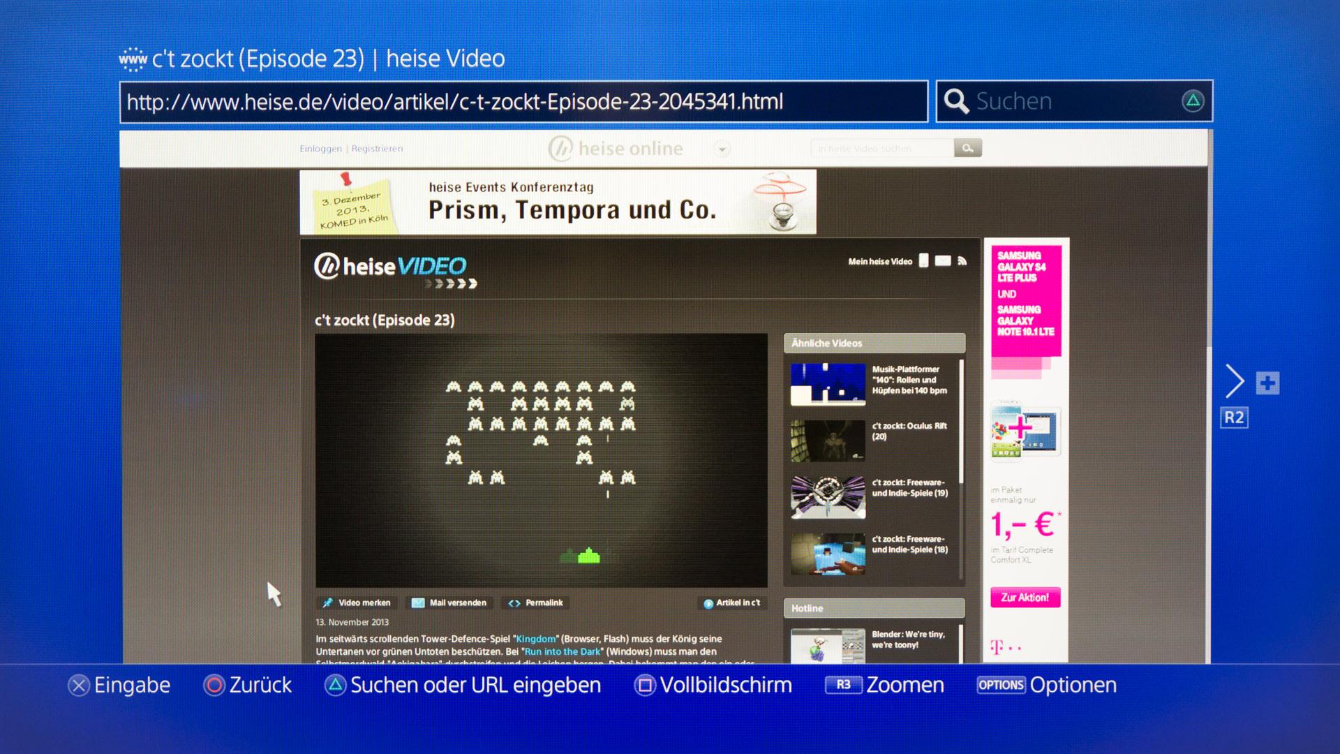 getestet: xbox one und ps4 im vergleich | c't magazin, Wohnzimmer