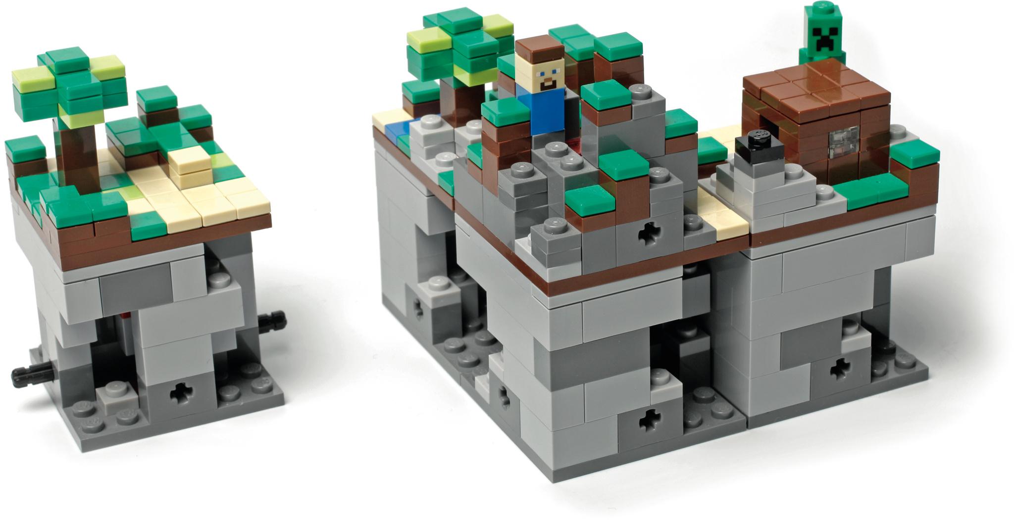 Entstanden als fan initiative das lego minecraft set verbindet virtuelles und echtes lego