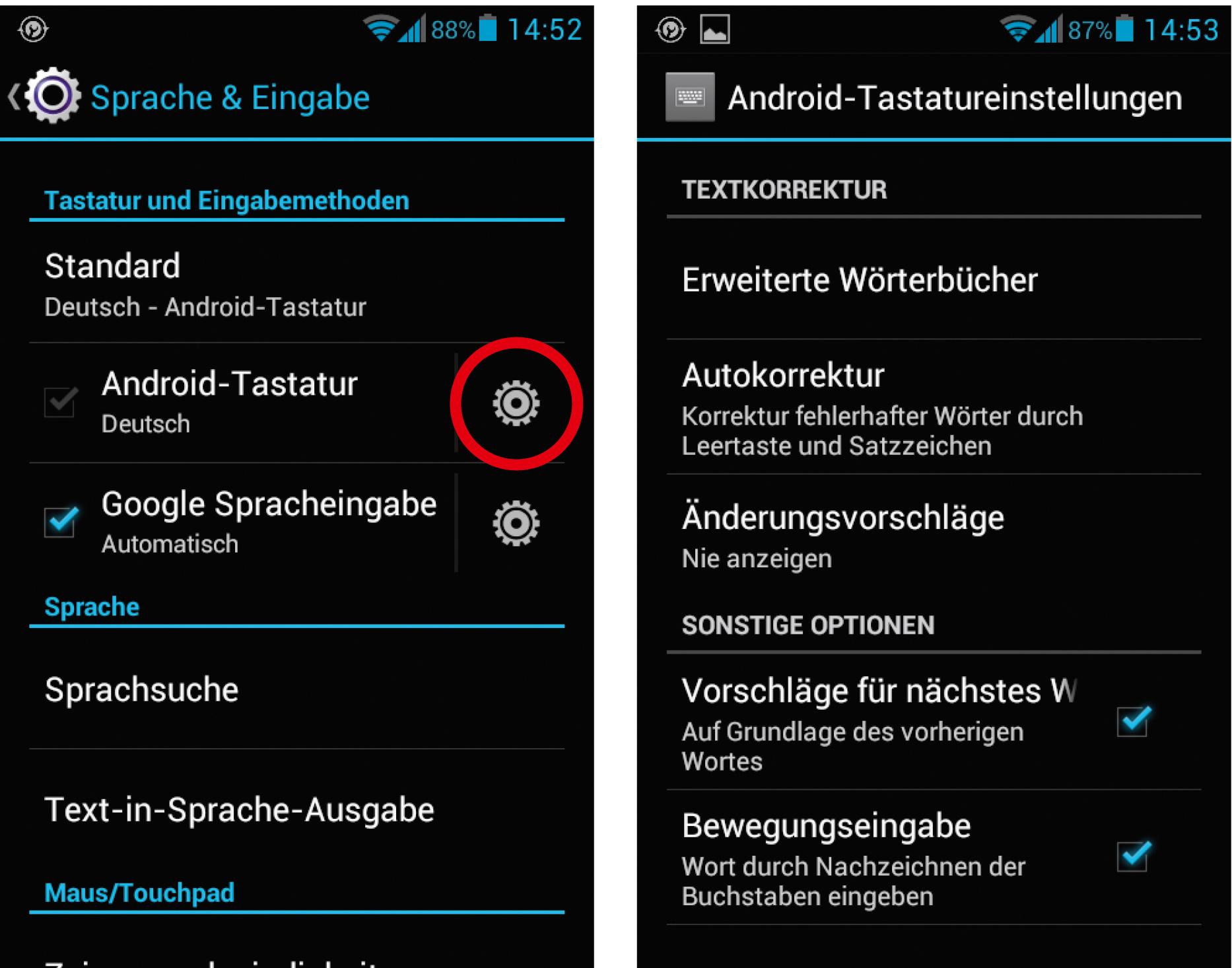 Android-Rechtschreibprüfung nervt   c\'t Magazin