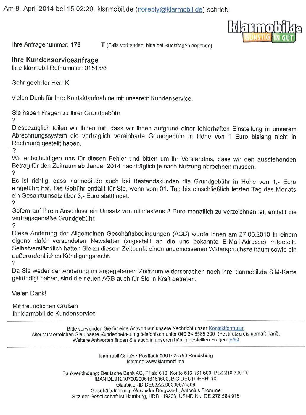 Klarmobilde Und Die Kontopflegegebühr Ct Magazin