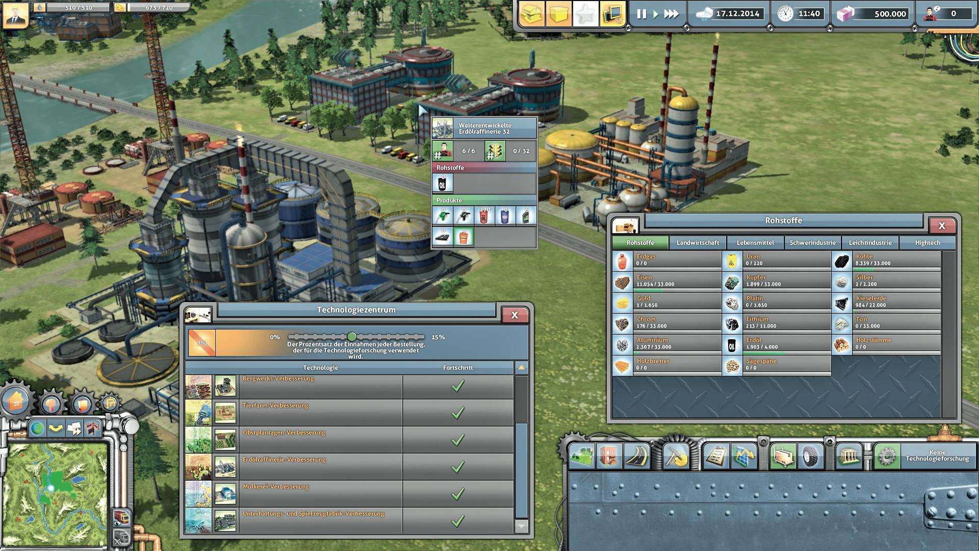 Online Wirtschaftssimulation