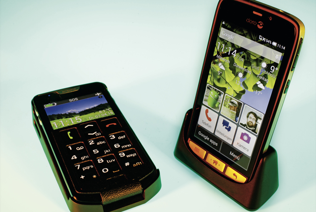 android smartphones f r senioren c 39 t magazin. Black Bedroom Furniture Sets. Home Design Ideas