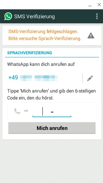 Bei Whatsapp Anmelden