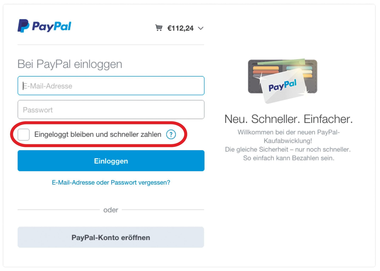 paypal bankkonto ändern
