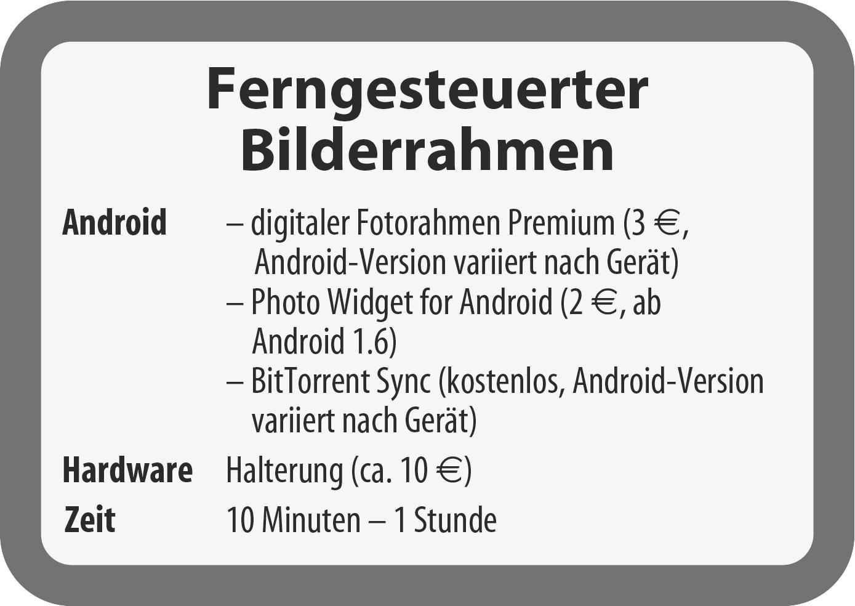 Android-Tablet als digitaler Bilderrahmen mit Fernbeschickung | c\'t ...