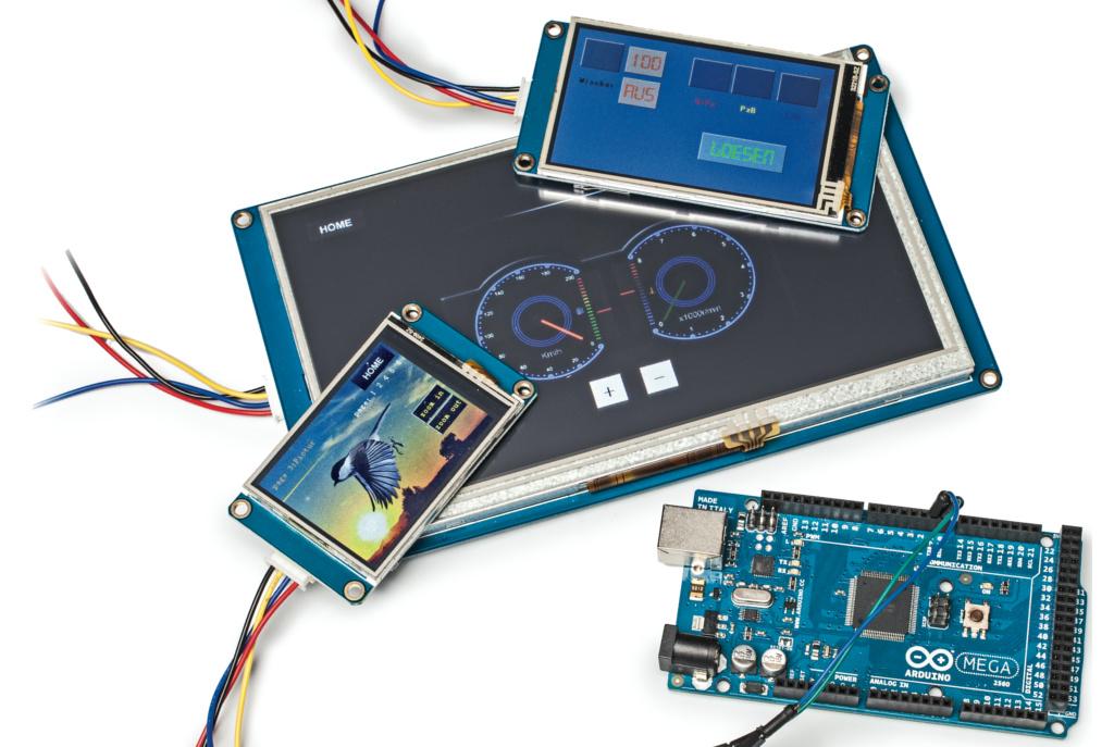 Intelligente touchscreens für arduino co c t magazin