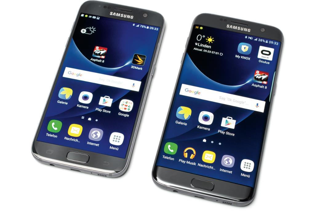 Samsung Galaxy S7 Heise