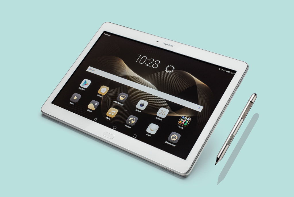 huawei mediapad m2 10 0 android tablet mit stift c 39 t. Black Bedroom Furniture Sets. Home Design Ideas