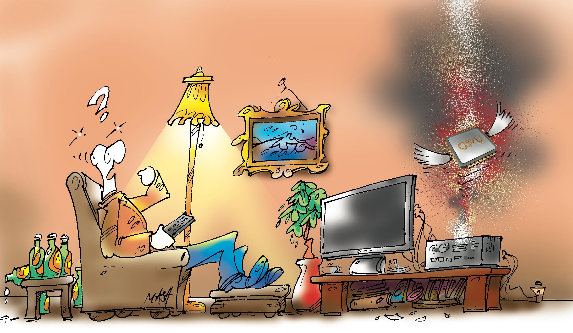 Editorial: Der Wohnzimmer PC Ist Tot Update