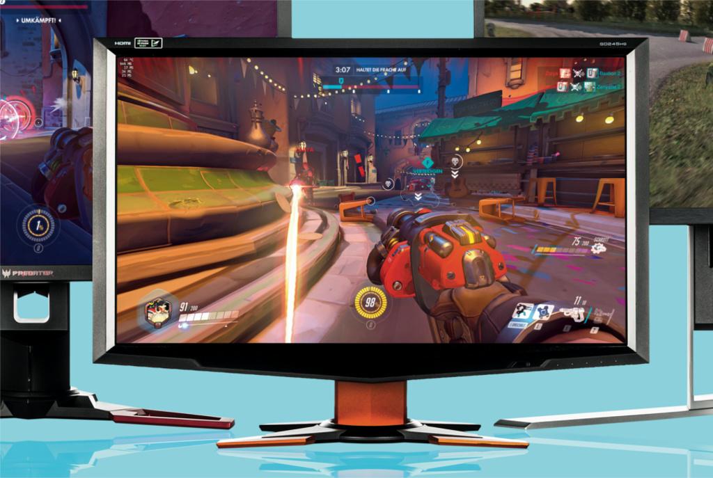 Gaming-Monitore mit hohen Bildraten im Vergleich   c\'t Magazin