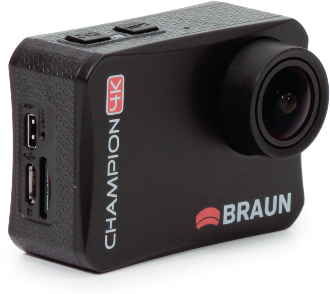 action cam braun champion 4k c 39 t magazin. Black Bedroom Furniture Sets. Home Design Ideas