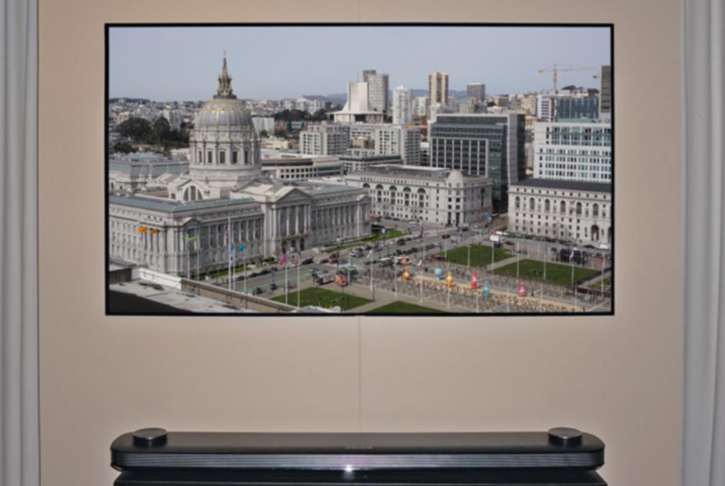 LG Wallpaper-TV W7 im Test | c\'t Magazin