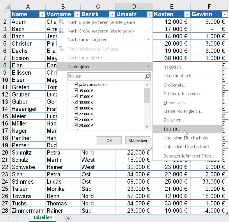 Tipps für den effizienten Umgang mit Excel | c\'t Magazin