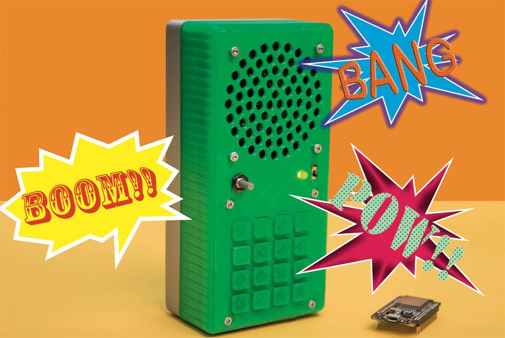 Eine portable Soundmachine auf Basis des Espressif ESP32 | c\'t Magazin