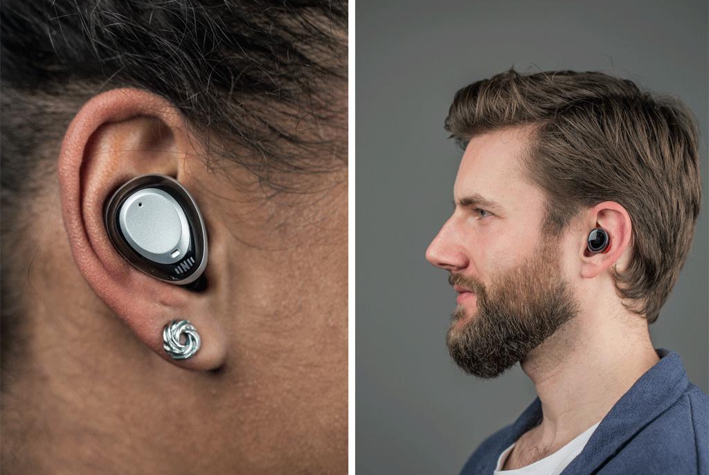 kabellose in ear kopfh rer und hearables mit smarten. Black Bedroom Furniture Sets. Home Design Ideas