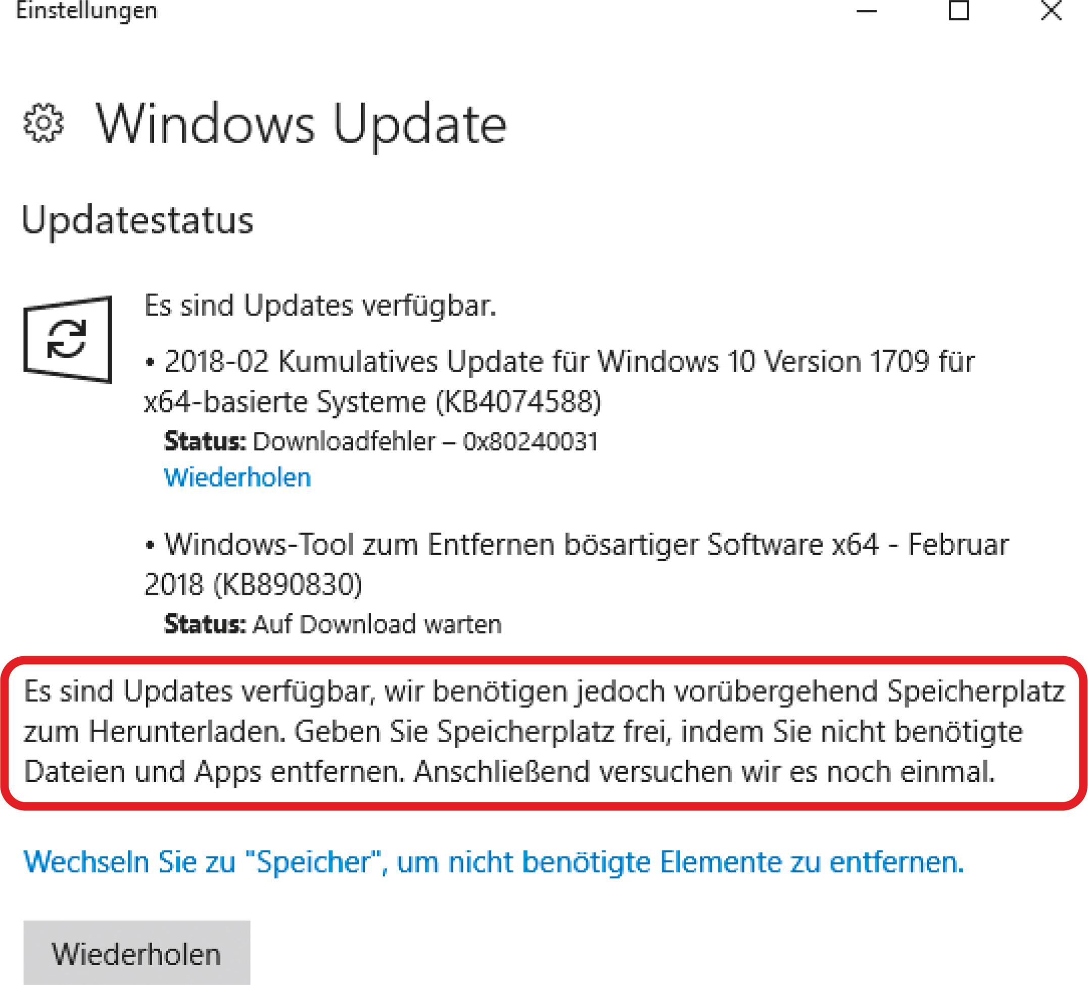 Endlich wieder Platz auf der Windows-Partition | c\'t Magazin