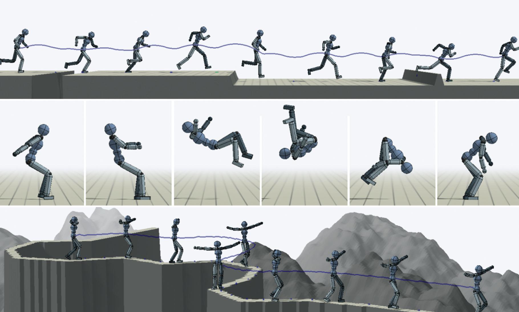 KI lernt Bewegungen, indem sie Menschen nachahmt | c\'t Magazin