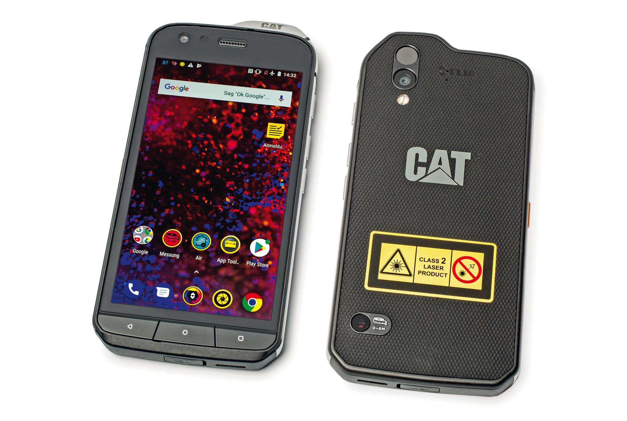 Entfernungsmessung Mit Handy : Outdoor smartphone cat s mit wärmebildkamera c t magazin