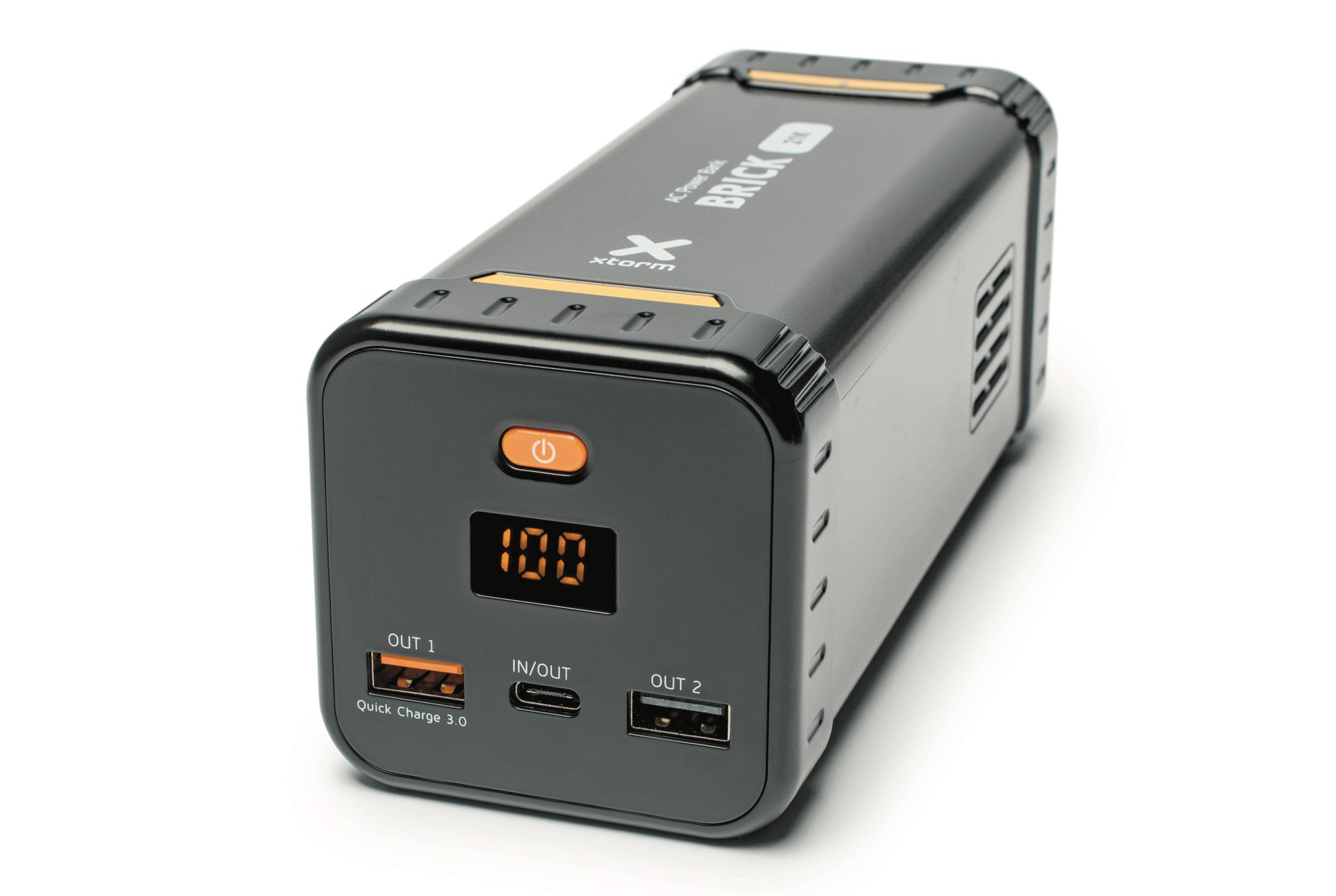 powerbank xtorm al480 mit usb quick charge 3 0 und 230. Black Bedroom Furniture Sets. Home Design Ideas