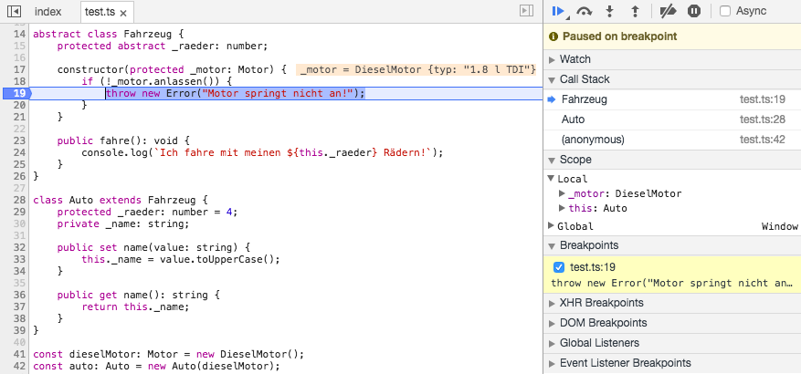 App-Entwicklung mit JavaScript, Teil 3: Aber bitte mit Typen