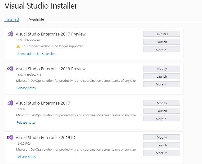 Visual Studio 2019 erscheint heute | heise Developer