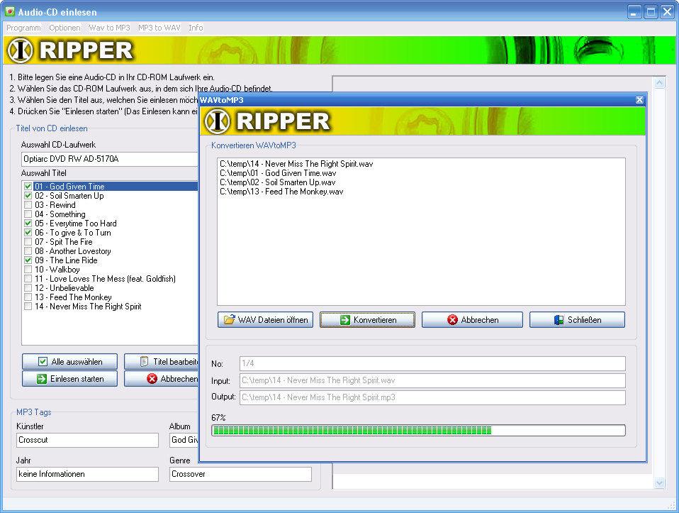 <b>Exact</b> <b>Audio</b> <b>Copy</b> 1.3 - <b>Télécharger</b>
