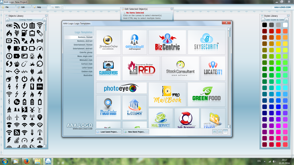 Aaa logo software heise download for Logo drawing program
