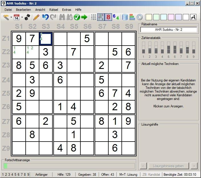 Sudoku Download Kostenlos Deutsch